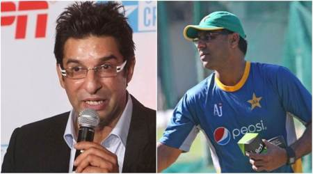 wasim akram, waqar younis, pakistan super league, psl, Misbah-ul-Haq, cricket, sports news, indian express