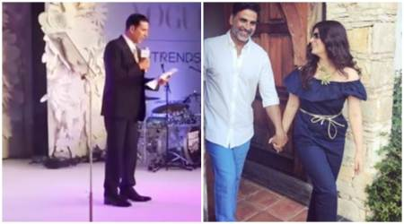 Akshay Kumar's acceptance speech at a recent award night is not something worth missing. Watch hilariousvideo