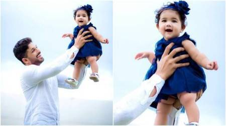 Allu Arjun shares a picture perfect moment with his daughter Arha, makes his fans go aww