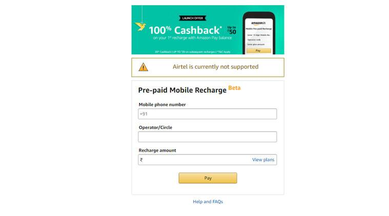 Amazon, Amazon Pay Balance, Amazon Pay Balance Mobile Recharge, Amazon Mobile Recharge, how to recharge from Amazon, Amazon Pay feature