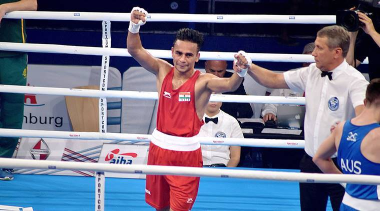 amit Phangal, Gaurav Bidhuri, Vikas Krishan, world boxing championships, Sumit Sangwan, boxing news, sports news, indian express