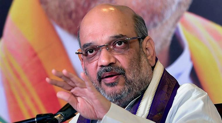Amit Shah, 75-Year Age Limit, Election, Shivraj Singh Chouhan Government, Madhya Pradesh, Babulal Gaur, Sartaj Singh, India News, Indian Express, Indian Express News