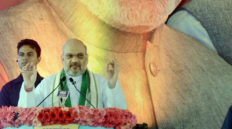 amit shah, bjp, kerala, bjp kerala, bjp rally, kerala rally kerala bjp rally, amit shah bjp rally, amit shah kerala rally, india news, indian express news