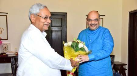 Nitish Kumar-led JDU formally joins NDA fold, Sharad Yadav holds parallel meeting