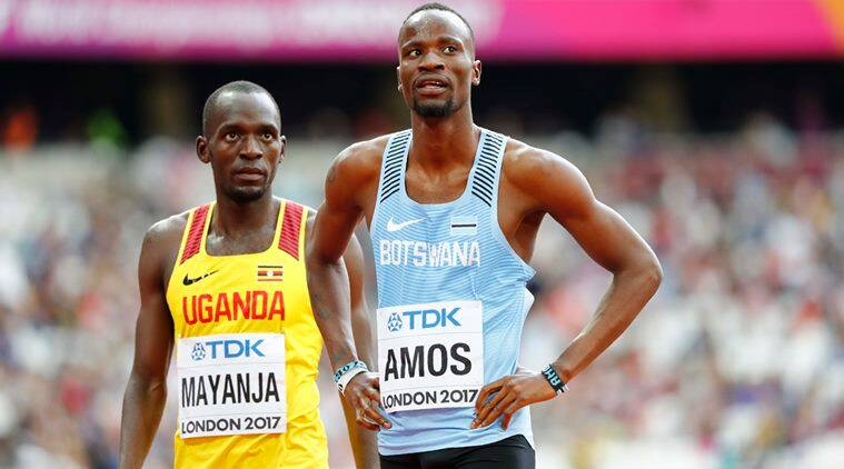 Nijel Amos, David Rudisha, World Athletics Championship, Diamond League