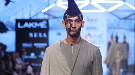Young designer brings child abuse, women trafficking issues on LFW ramp