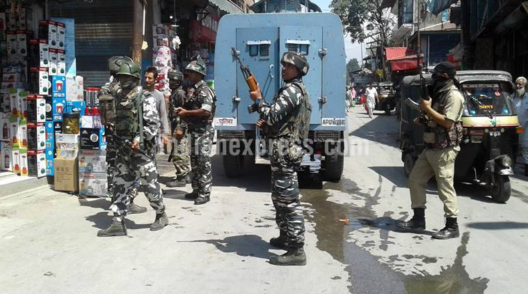 Police officer shot dead in Anantnag