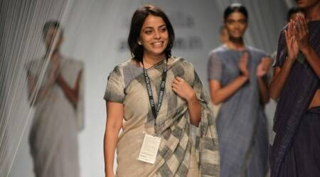 Anavila Misra, focus on black, sustainable show, Fashion news, Indian express news