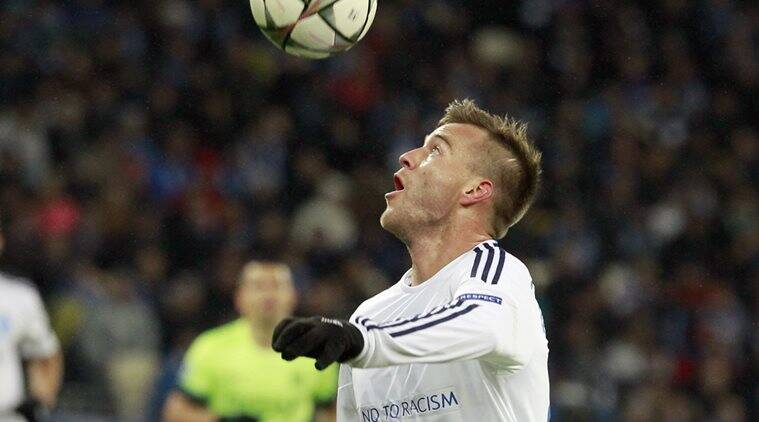 Borussia Dortmund, Andrey Yarmolenko, Dynamo Kiev, sports news, football, Indian Express