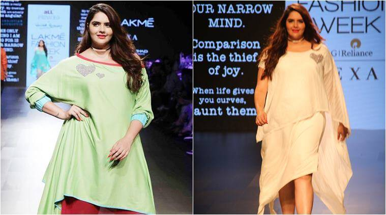 anjali anand, plus size models, wendell rodricks, lakme fashion week