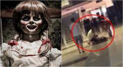 Annabelle: Creation, Annabelle: Creation reaction, woman hysterical after Annabelle: Creation, indian express, indian express news
