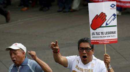 Private-sector Unions take NAFTA wage fight to Mexican Senate