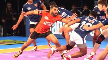 U Mumba beat Dabang Delhi 30-28: Match highlights