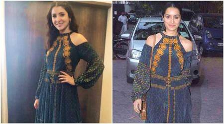 Anushka Sharma or Shraddha Kapoor: Who looks better in the Ritu Kumar dress?