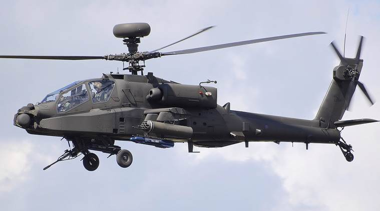 apache helicopter, apache helicopter india, ah 64 helicopter, atttach helicopters india, boeing helicopter, indian army, arun jaitley