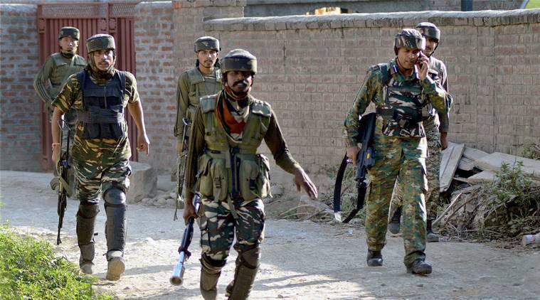 Lashkar-e-Toiba militants, Srinagar, Zewan srinagar, 7th Armed Police battalion, Eid-ul-Azha, Kashmir LeT attack, indian express news