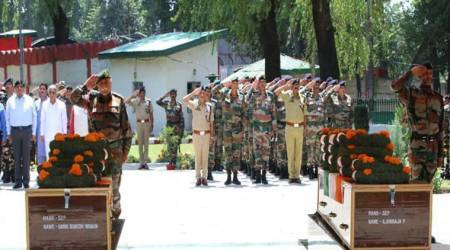 Shopian encounter: Army bids adieu to three soldiers killed in Jammu and Kashmir