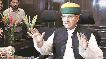 Union minister Arjun Ram Meghwal lashes out at Congress on demonetisation issue