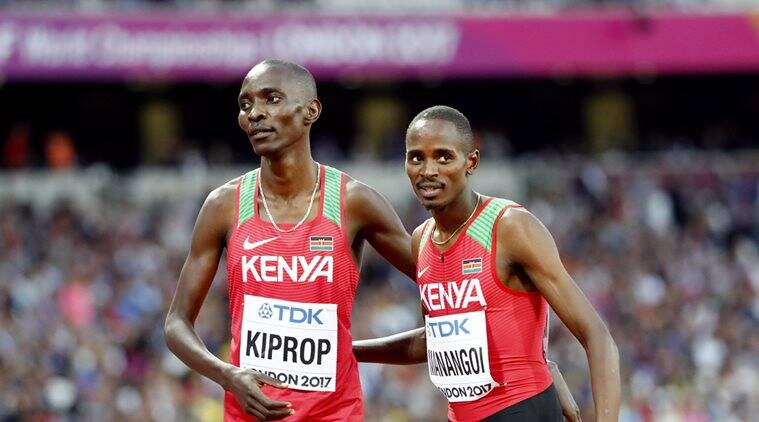 Asbel Kiprop, World Championship, Indian Express