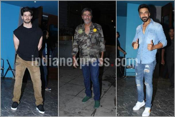 ashish chowdhry, chunky pandey, sooraj pancholi, arbaaz khan birthday photos