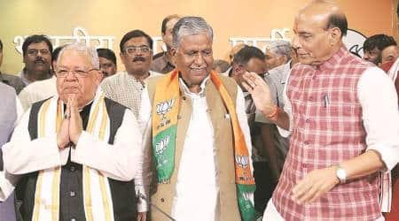 Ashok Bajpai joins Uttar PradeshBJP
