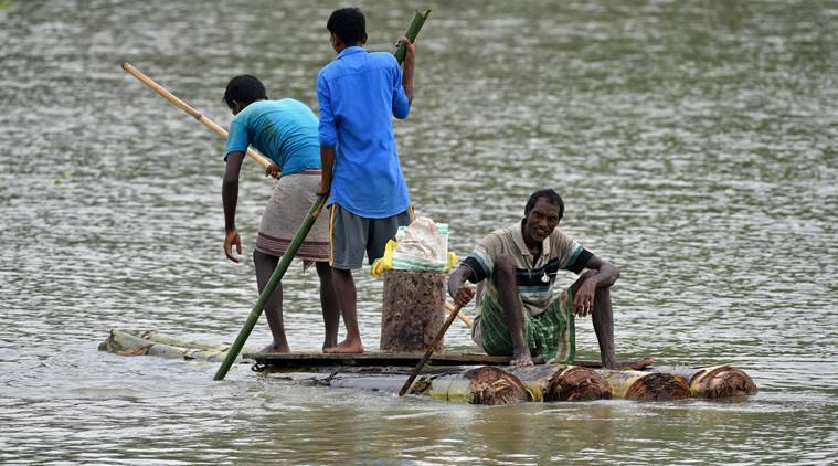 assam floods, assam rains, assam heavy rains, dhemaji, assam State Disaster Management Authority, assam news