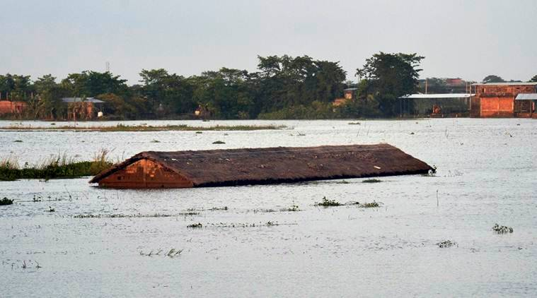Fresh floods affect over 65000 in Assam