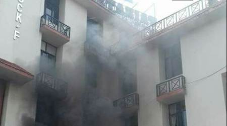 Major fire breaks out at Assam Secretariat Complex