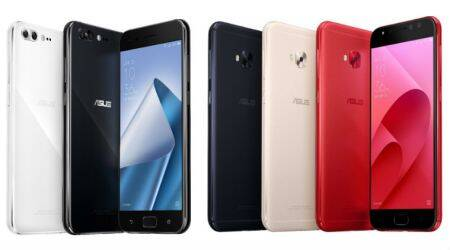 Asus launches new Zenfone 4 series smartphones in Taiwan