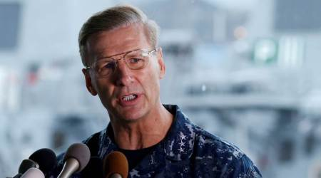US Navy to relieve Seventh fleet commander Vice Admiral Joseph Aucoin of duty after collisions