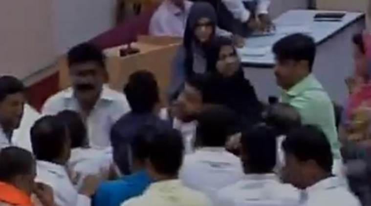 Two AIMIM MLCs Suspended For Refusing To Stand During 'Vande Mataram' Rendition