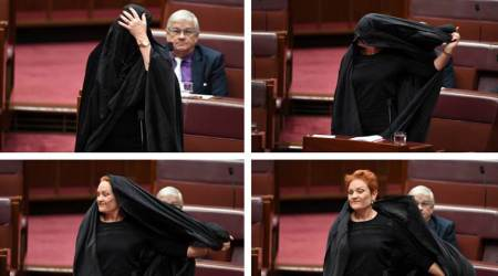 Australian senator argues for burqa ban in public places