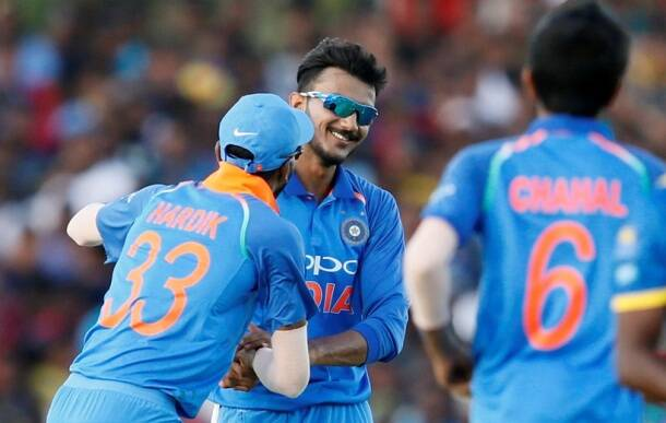 India vs Sri Lanka, Shikhar Dhawan, Virat Kohli, Axar Patel, sports gallery, cricket, Indian Express