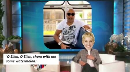 WATCH: Baba Sehgal wants to share watermelon with Ellen DeGeneres (why???!!!)