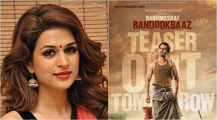 Shraddha Das, Shraddha Das Babumoshai Bandookbaaz, Shraddha Das upcoming movie, Babumoshai Bandookbaaz release date, Shraddha Das films