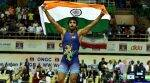 Bajrang Punia defeats Rahul Mann in trials, to represent India at World Wrestling Championship