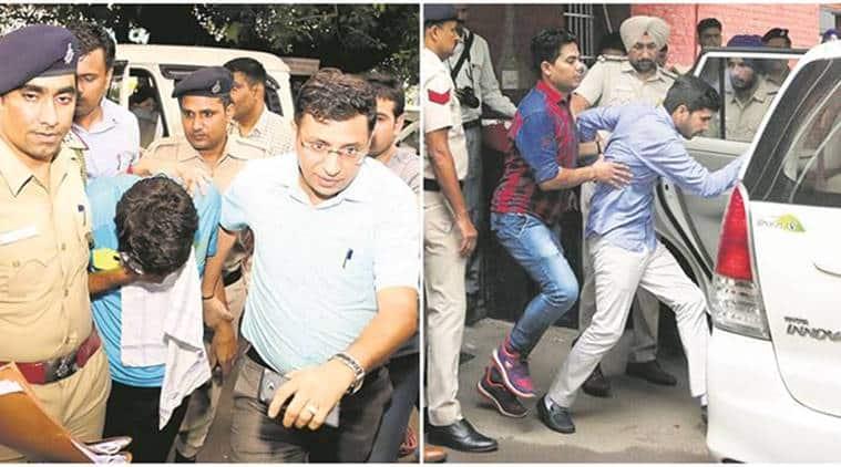 Chandigarh stalking case, vikas barala, subhash barala, barala medical test, varnika kundu, what is chandigarh stalking case, what happened in chandigarh, who is varnika, indian express news, india news