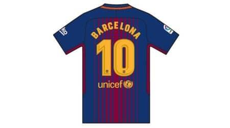 barcelona fc, barcelona, barcelona terror attack, barcelona attack, lionel messi, black armbands, football, sports news, indian express