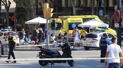 Barcelona terror attack: 13 dead, several injured as van plows into crowd in Las Ramblas avenue
