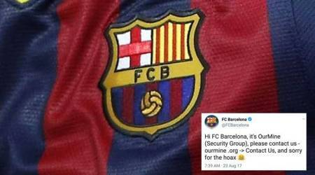 Barcelona Twitter account hacked; reveals spicy transfer tidbit