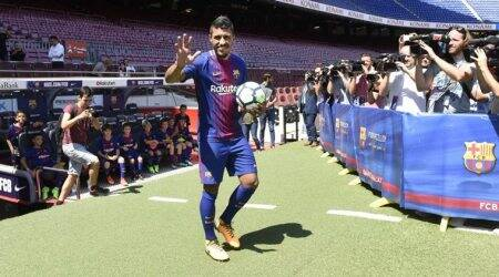 I will do everything to help my teammates, says Paulinho on arrival at Barcelona
