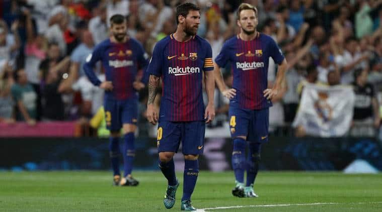 Barcelona vs Alaves, Barcelona, Lionel Messi, sports news, football, Indian Express