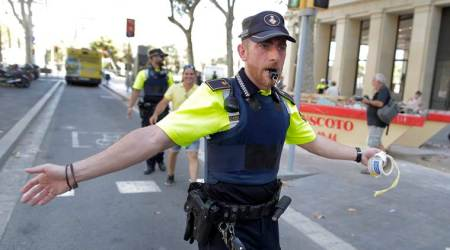 Barcelona terror attack: Van crashes into crowds, media say two killed