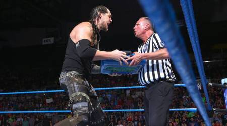 WWE SmackDown Live: Jinder Mahal defeats Baron Corbin after Money in the Bank cash-in