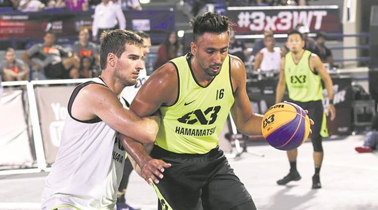 Basketball, Basketball 3x3 Format, Road to Mexico, FIBA World Tour, Sports News, Latest Sports News, Indian Express, Indian Express News