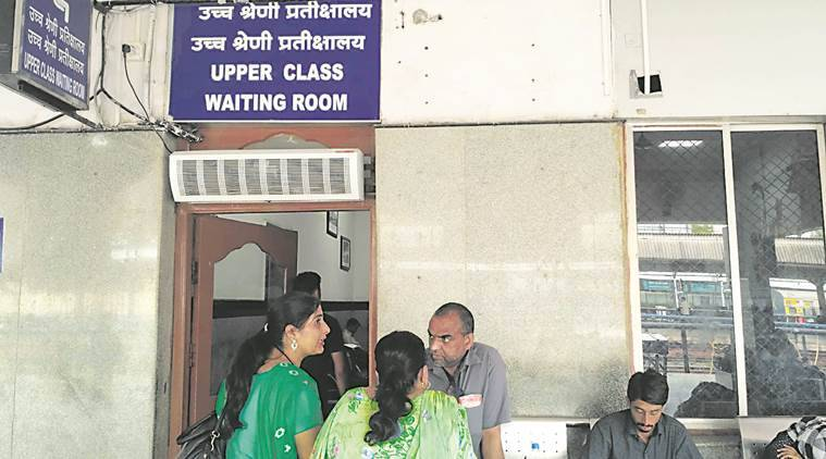 Pune railway station, pune railway station waiting room, pune, indian express news
