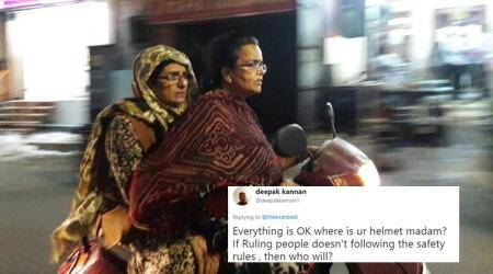 Kiran Bedi replies to Twitterati's objection to her night ride, sans helmet, in Puducherry