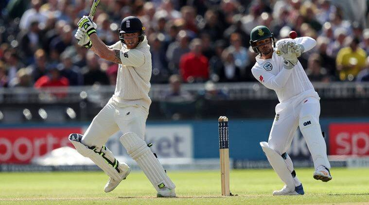 England vs South Africa, Joe Root, Ben Stokes, 4th Test, day 1, sports news, cricket, Indian Express