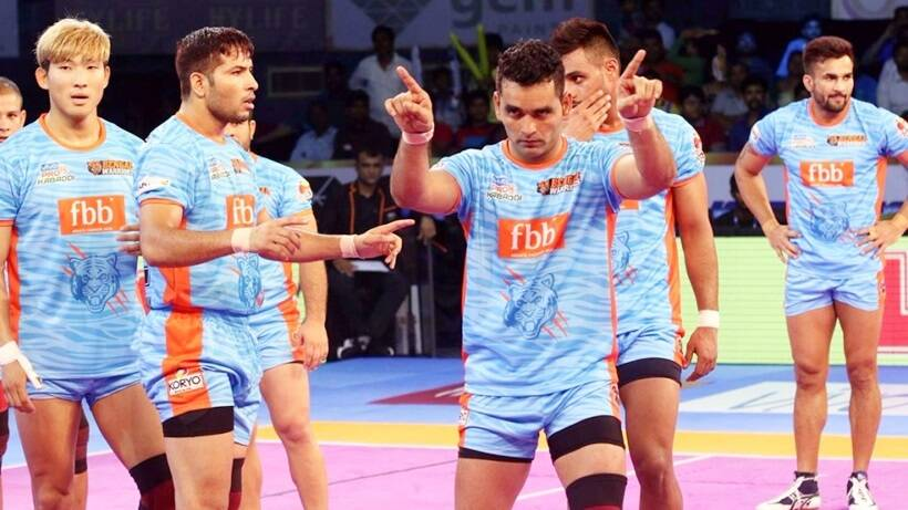 Pro Kabaddi League 2017, Day 6