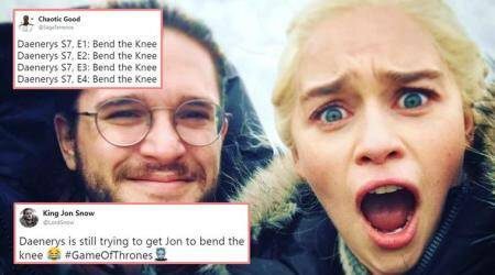 Forget 'You know nothing', GOT fans tease Jon Snow with 'bend the knee' jokes